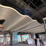 樟木头型材格栅铝方管 仿古木纹格栅背景墙厂家定制