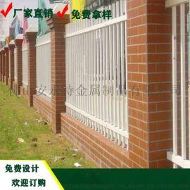 屯昌工厂烤漆护栏 组装式圆管栅栏 公园绿色护栏