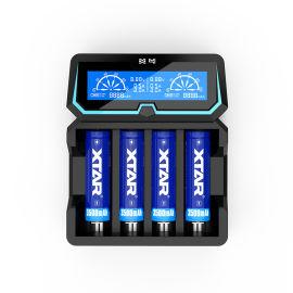 XTAR X4 锂电池1.2V镍镉镍氢电池充电器