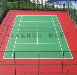 丙烯酸球场地板-丙烯酸羽毛球场南宁厂家铺设