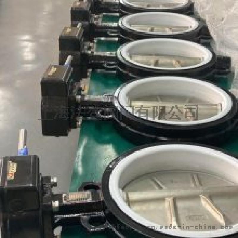 大口径四氟蝶阀化工排水管路应用蝶阀德国VATTEN