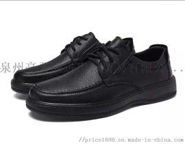 新款头层软牛皮商务休闲皮鞋爸爸鞋