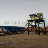 河南中泰重工HZS35小型环保混凝土搅拌站
