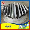 斜板式液体收集器与槽盘式分布器配套使用