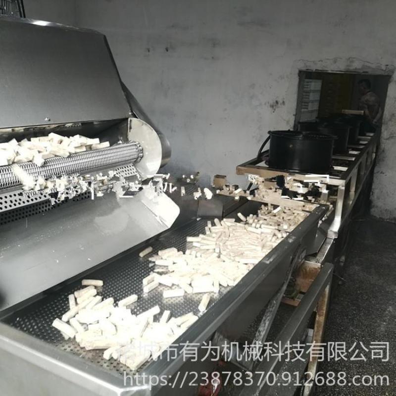 **小酥肉上浆机器 小酥肉上浆油炸流水线