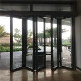 廠家移動玻璃隔斷牆 鋼化玻璃活動隔斷 有框玻璃摺疊門