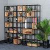隔断置物架屏风现代简约储物柜玄关展示架客厅书架