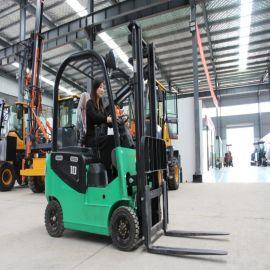 四轮电动叉车 全自动堆高1.5吨小型电动叉车 搬运车