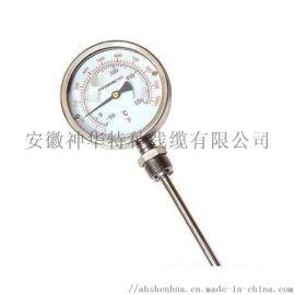 双金属温度计WSS411 温度表工业温度表