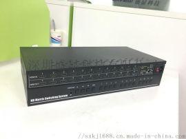 本溪9进9出HDMI高清矩阵支持ipad无线控制