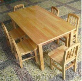 德阳实木课桌 儿童课桌定制 绵阳幼儿园课桌椅厂家