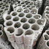 鋼鐵焦化廠脫硫塔19孔連環全瓷填料多孔形全瓷組合環