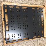 花紋亂孔鋁單板隔斷 金黃色鋁合金衝孔板廠家