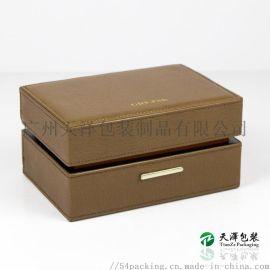 PU皮手表盒  手表收纳盒皮纹手表礼盒首饰盒