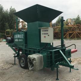 山西忻州金属压块机 秸秆青储机生产厂家