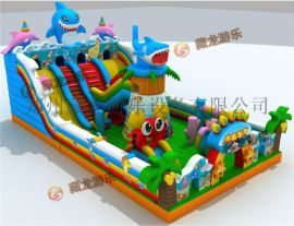 郑州哪有儿童蹦蹦床生产厂家,充气城堡适合在哪里摆生意?
