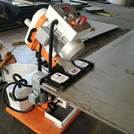 全自动钢板铣边机 自行走金属板材倒角机 钢板修边机厂家