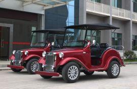 新款4座电动老爷车,观光车,会所接待车