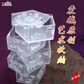 珠海市天利来亚克力工艺品公司当其无品牌五行盒五层收纳盒