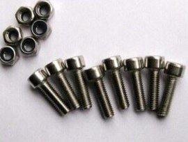 特价 304不锈钢内六角螺丝 杯头内六角螺钉/圆柱头螺栓