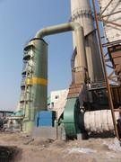 唐山大型球团竖炉脱硫塔|电厂烟气脱硫除尘塔
