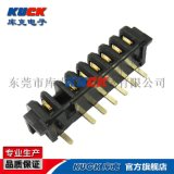 筆記本電池座插座連接器B12F母座3-10Pin帶柱 防呆 短腳 間距2.5PH
