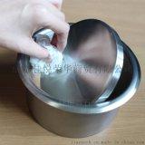 洗手间台面厨房台面用的不锈钢鼓边垃圾筒装饰盖