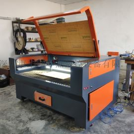 布料激光切割机厂家,皮革纸张木板工艺品激光切割机