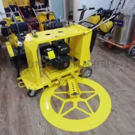 井盖口切圆机手推式地面切圆机圆形路面井口切割机