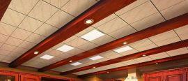 2019白色吊顶工装铝扣板 白色冲孔铝扣板天花板