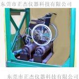 轮椅车动态路况试验机 轮椅车双辊疲劳测试机程序控制