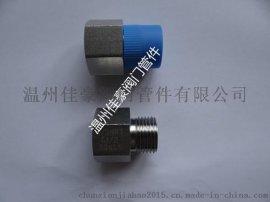 G1/2-M20*1.5/1/2NPT不锈钢六角内外丝螺纹压力仪表转换接头