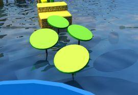 郑州三邦大型水上闯关设备户外拓展娱乐设备