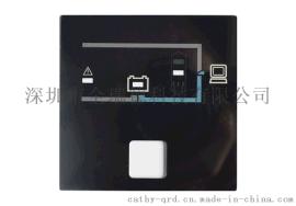 亚克力视窗镜片 机械/医疗设备视窗口镜片 PC视窗面板CNC雕刻丝印加工