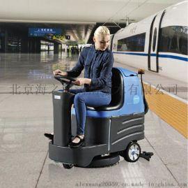 北京物业小型容恩洗地车R-XBEN|驾驶式洗地机