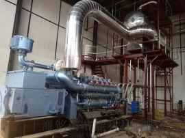 燃气发电机组烟气余热蒸汽锅炉