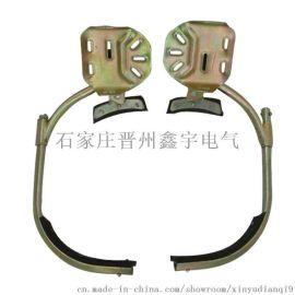 鑫宇电工国标电线杆脚扣木杆爬树工具  水泥杆登杆加厚型爬杆脚扣