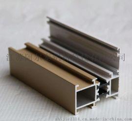 铝型材生产基地 木包铝复合门窗 门窗铝型材厂家生产