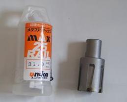 优尼卡31mm空心钻头