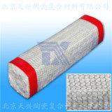 天兴 外套钢丝网陶瓷纤维矩形编 陶纤方编 硅酸铝绳