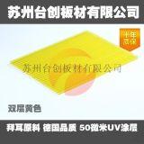 常州供應透明PC耐力板 採光車棚雨棚耐力板廠家臺創品牌