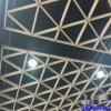 海南三角形铝格栅 三角形铝格栅吊顶效果图 三角形铝格栅厂家
