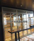 东莞不锈钢酒柜、办公室不锈钢酒柜定制