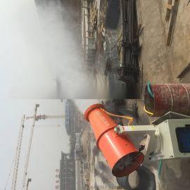 郑州工地射程30米降尘雾炮机故障排除方法