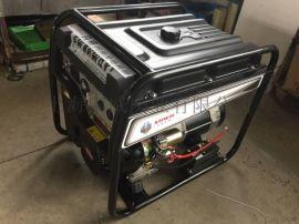 闪威8KW汽油发电机单杠永磁发电机组