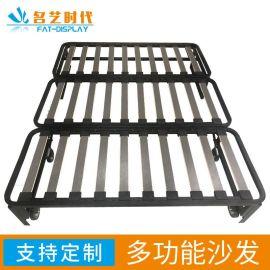 定制功能性沙发折叠起来时是沙发展开时是沙发床合理利用空间
