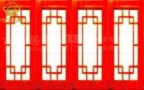 巴中中式格子門窗,實木雕花門窗定製廠家