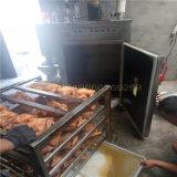 諸城燻雞設備生產廠家 華鋼電加熱燻雞機器