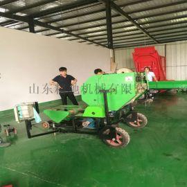 柴油动力打捆包膜一体机 全自动包膜机山东厂家