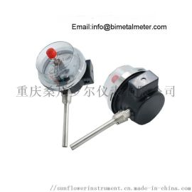 WSSX-481 工业双金属温度计带报警带电接点